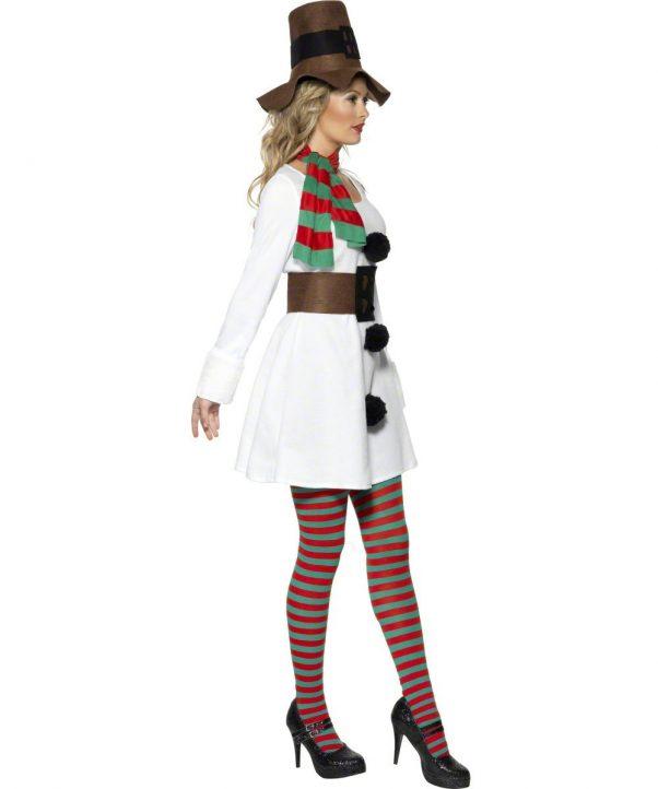 Photo du produit Déguisement bonhomme de neige femme Noël