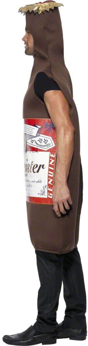 Photo du produit Déguisement bouteille de bière marron adulte