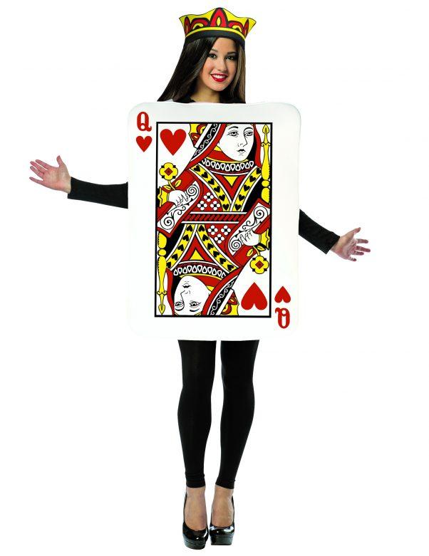 Photo du produit Déguisement carte reine de coeur femme