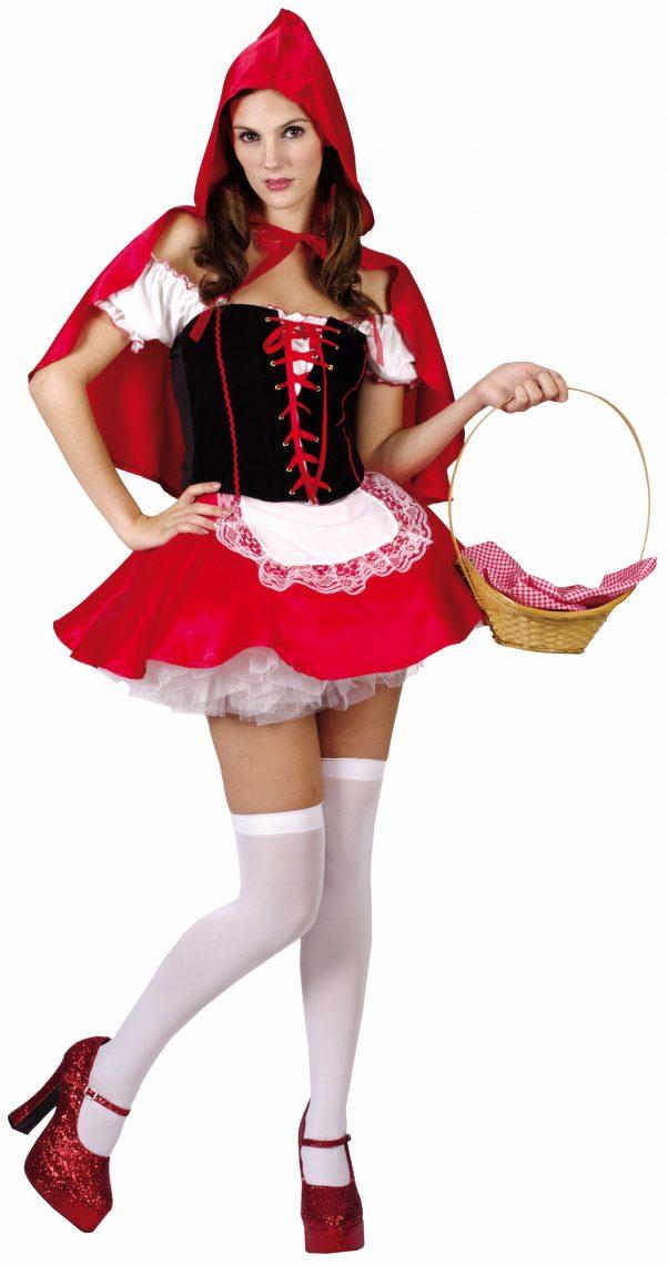 Photo du produit Déguisement chaperon rouge femme