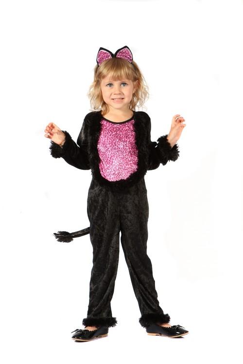 Photo du produit Déguisement chat imprimé léopard fille