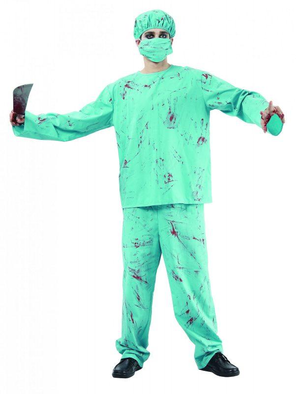 Photo du produit Déguisement chirurgien zombie Halloween adulte