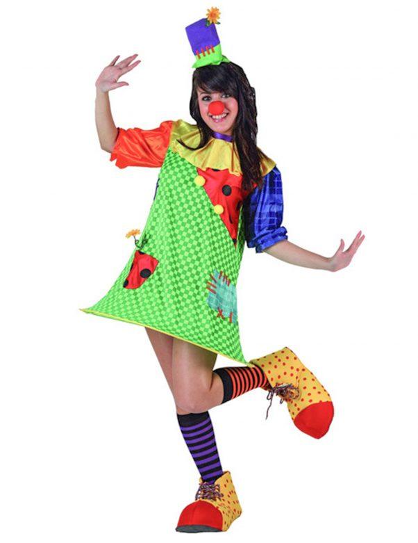 Photo du produit Déguisement clown avec cerceau femme