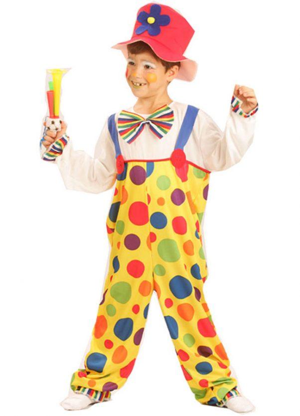 Photo du produit Déguisement clown à pois enfant