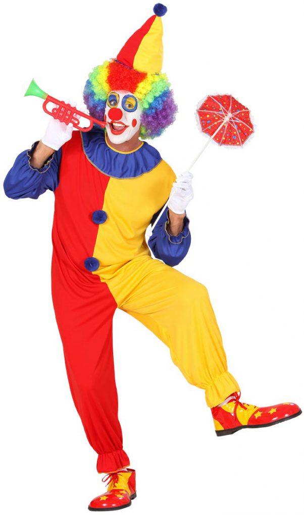 Photo du produit Déguisement clown bicolore homme