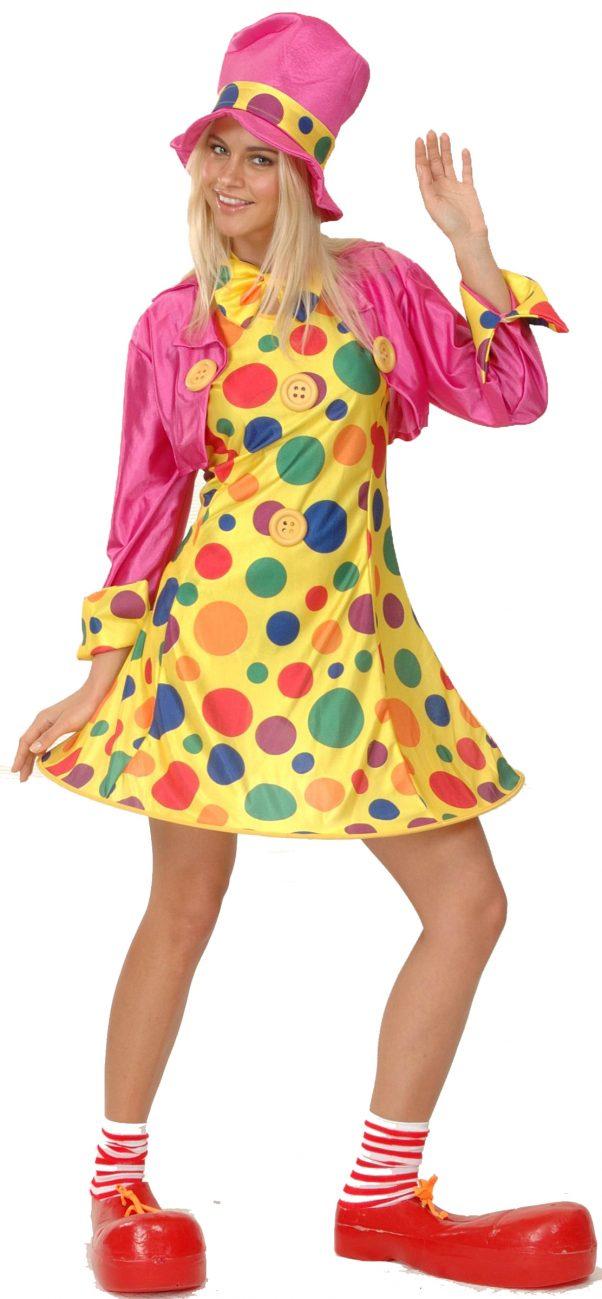 Photo du produit Déguisement clown amusant femme