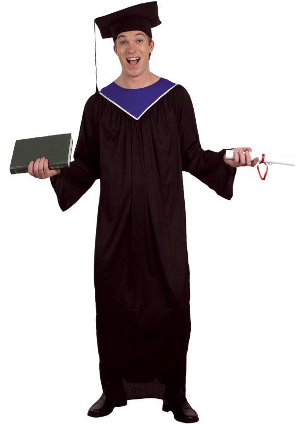 Photo du produit Déguisement diplômé homme