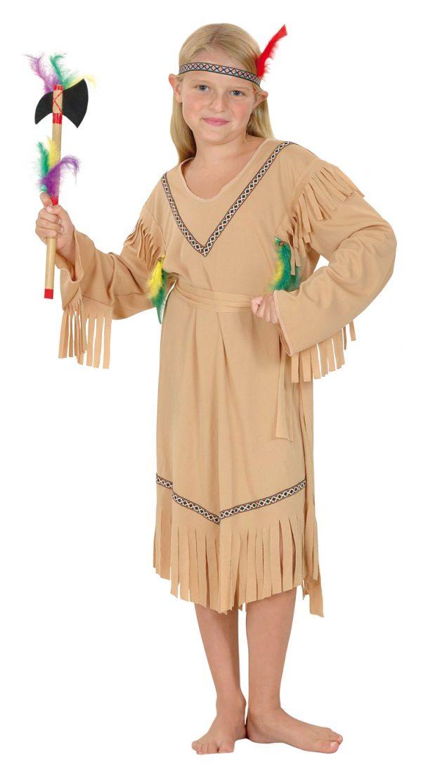 Photo du produit Déguisement indienne beige fille