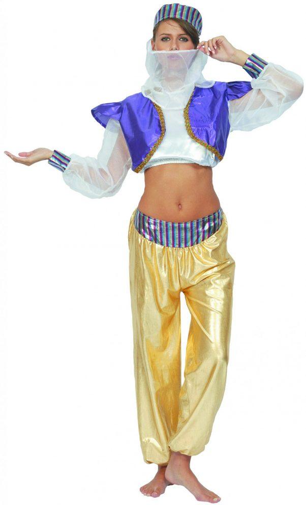Photo du produit Déguisement danseuse orientale coloré femme