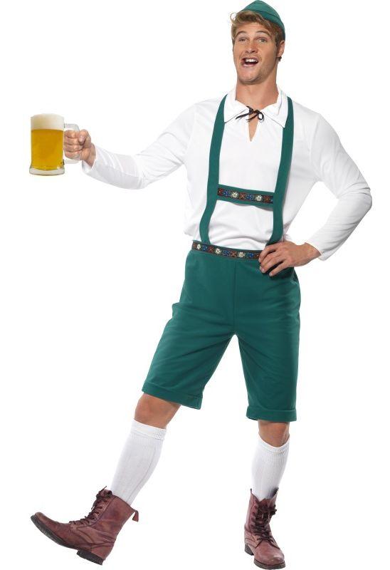 Photo du produit Déguisement bavarois vert homme