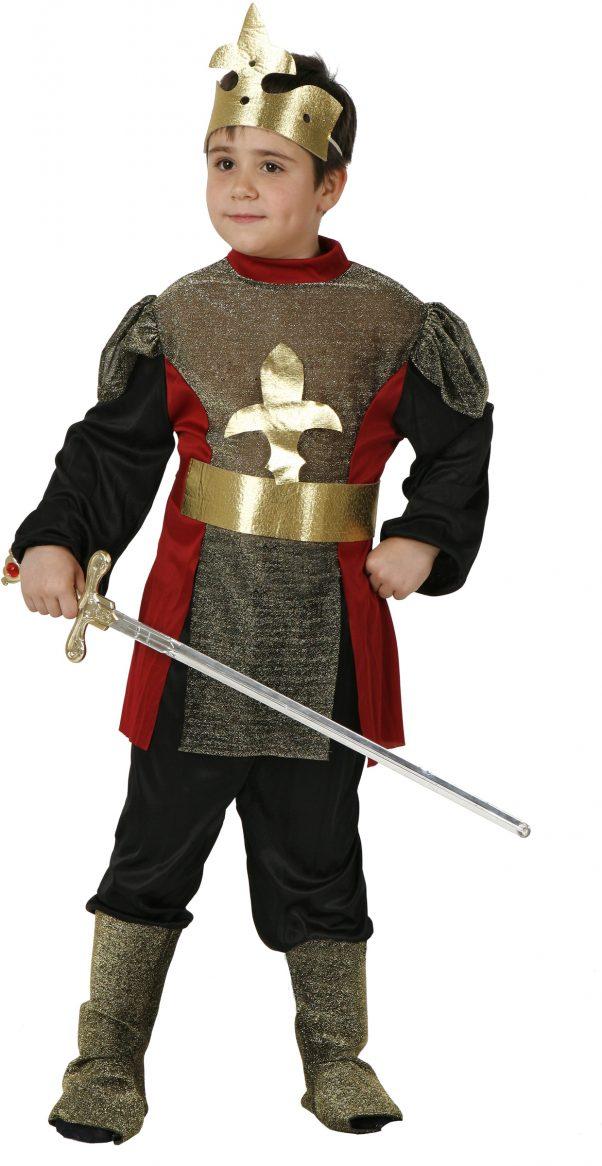 Photo du produit Déguisement noble chevalier médiéval garçon