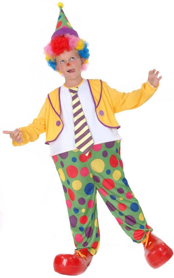 Photo du produit Déguisement clown joyeux garçon