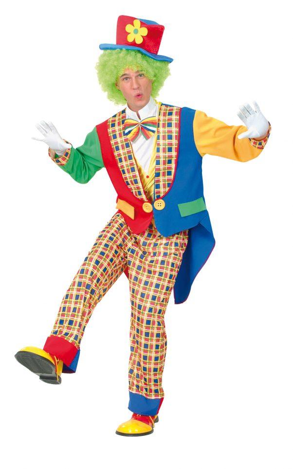 Photo du produit Déguisement clown de cirque homme