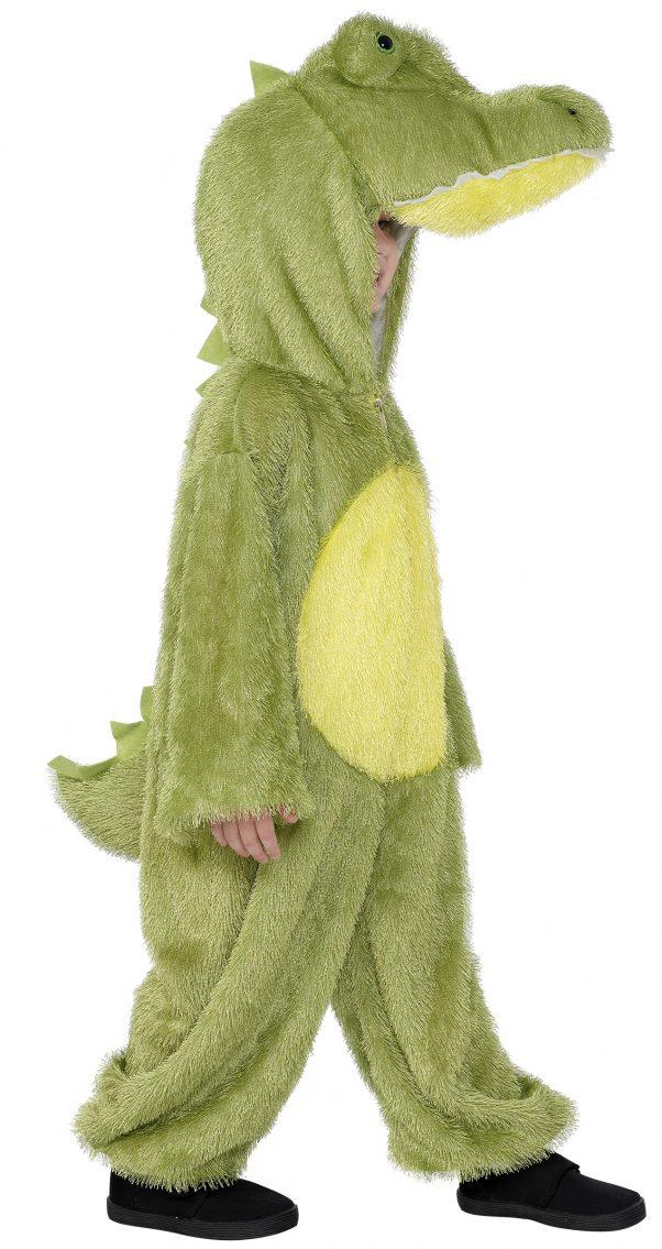 Photo du produit Déguisement crocodile bicolore enfant