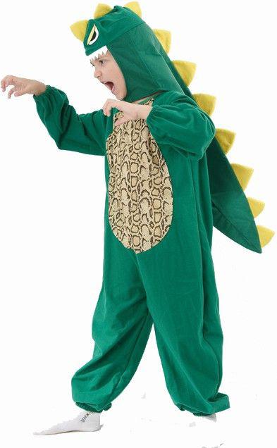 Photo du produit Déguisement dinosaure vert et jaune enfant