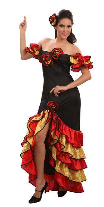 Photo du produit Déguisement danseuse flamenco femme