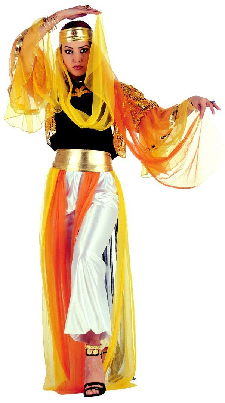 Photo du produit Déguisement danseuse orientale à voilage femme