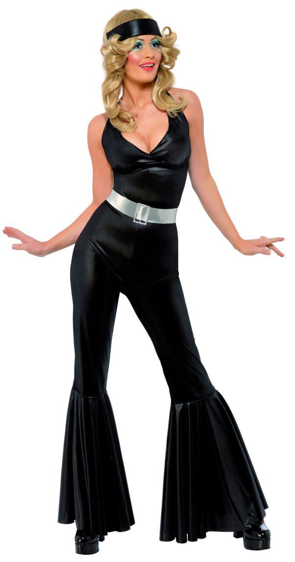 Photo du produit Déguisement disco noir femme