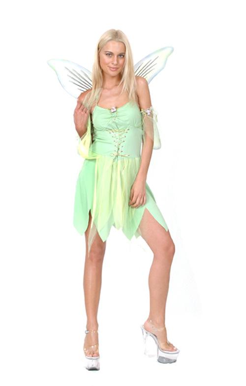 Photo du produit Déguisement fée verte sexy femme