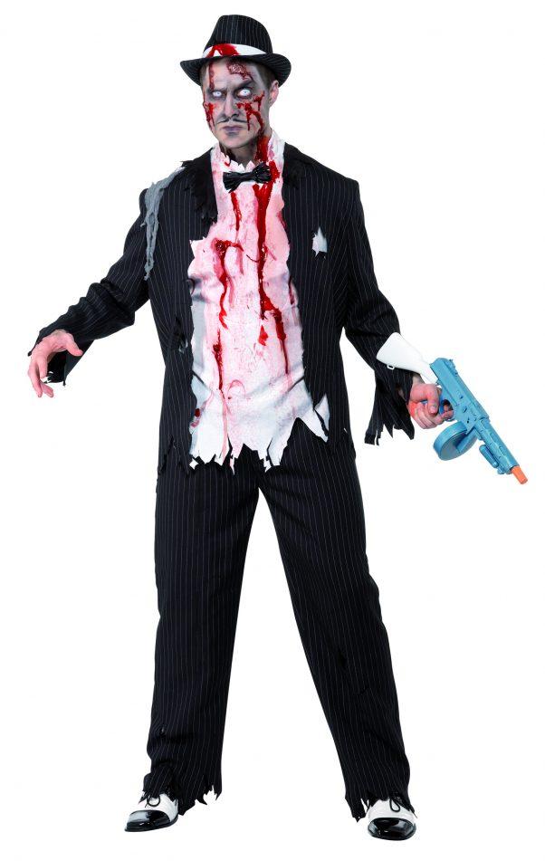 Photo du produit Déguisement zombie gangster charleston homme Halloween