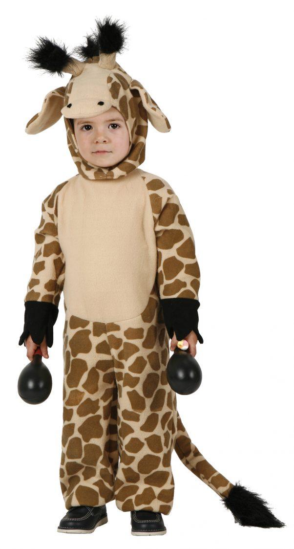 Photo du produit Déguisement girafe marron et noire enfant