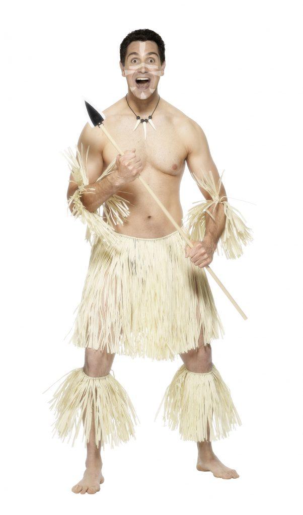 Photo du produit Déguisement guerrier Maori homme