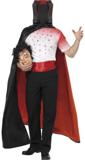 Photo du produit Déguisement vampire sans tête adulte Halloween