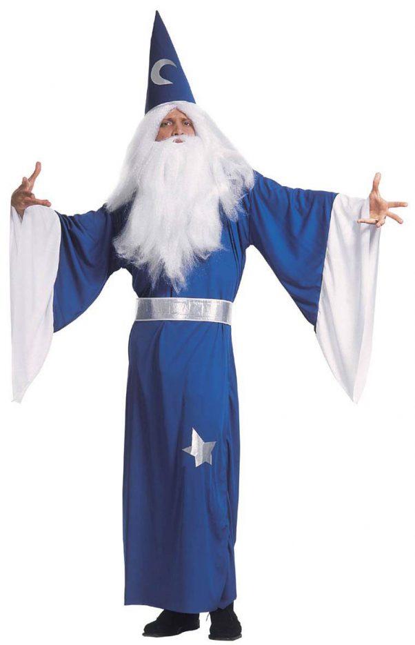 Photo du produit Déguisement magicien bleu homme