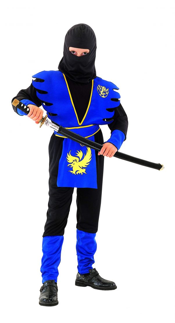 Photo du produit Déguisement ninja bleu garçon