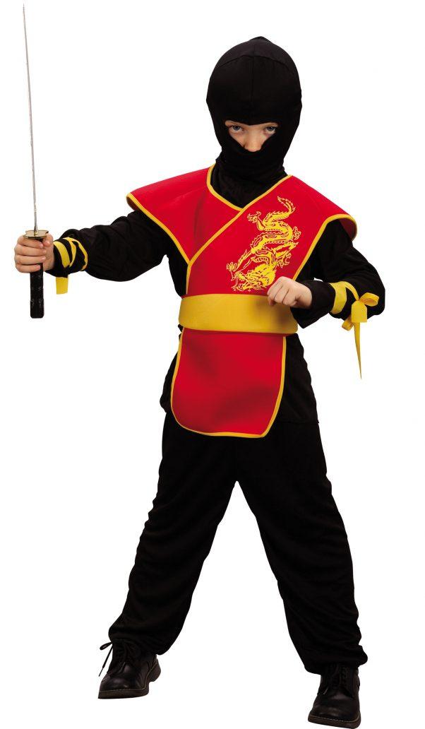 Photo du produit Déguisement ninja tunique garçon