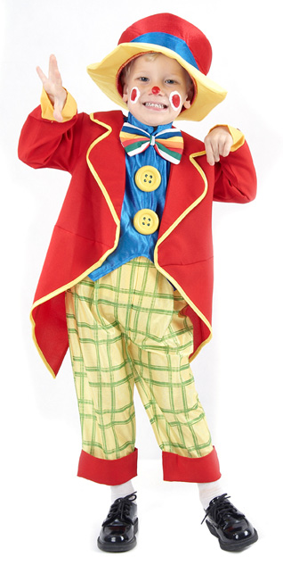 Photo du produit Déguisement clown coloré garçon