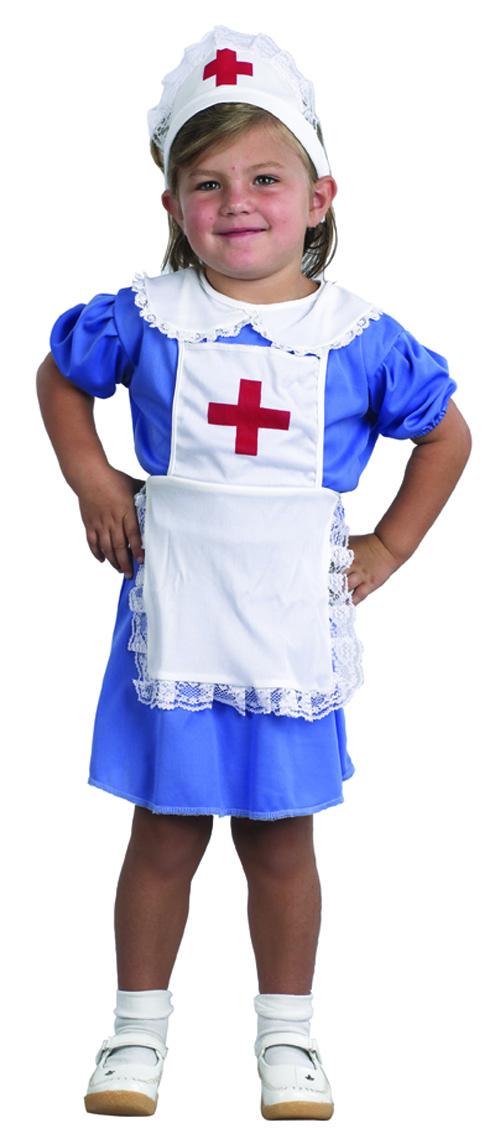Photo du produit Déguisement infirmière bleu fille