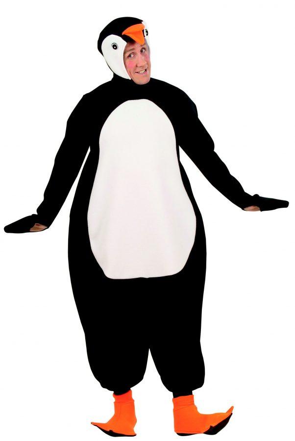 Photo du produit Déguisement pingouin noir et blanc adulte
