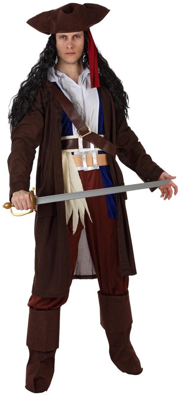 Photo du produit Déguisement pirate gilet marron homme