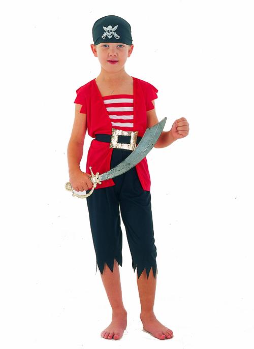 Photo du produit Déguisement pirate corsaire garçon