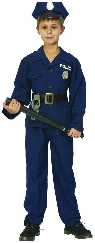 Photo du produit Déguisement policier luxe garçon