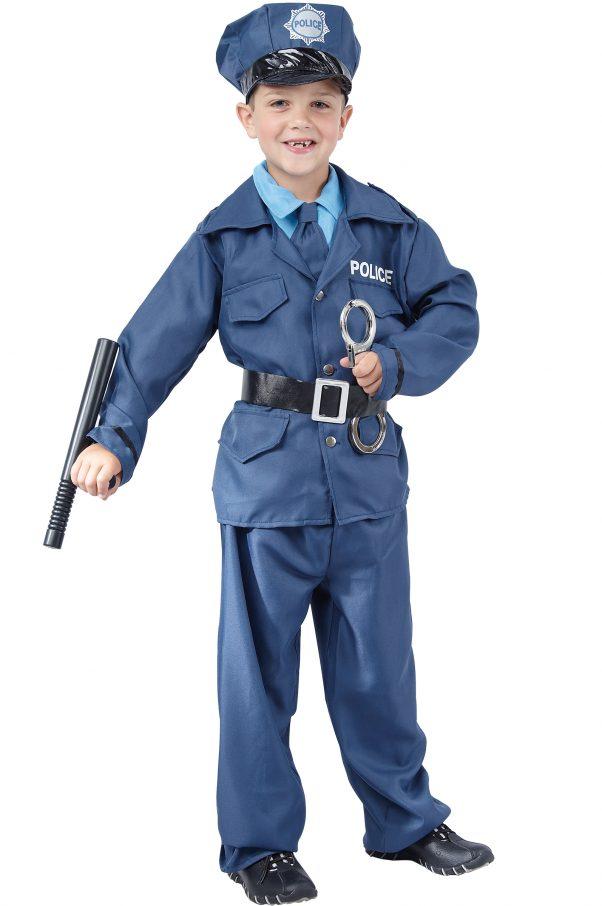 Photo du produit Déguisement policier garçon