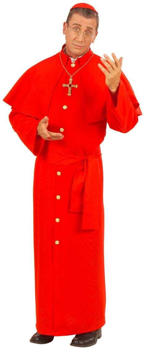 Photo du produit Déguisement cardinal rouge homme