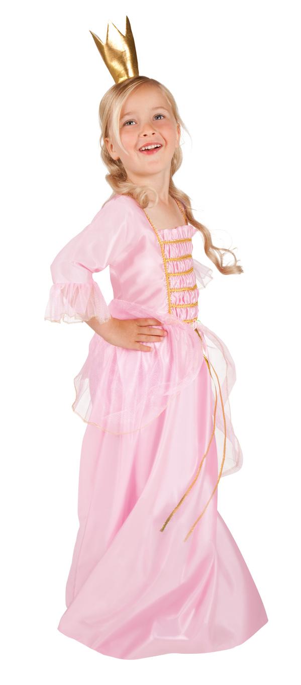 Photo du produit Déguisement princesse rose et doré fille