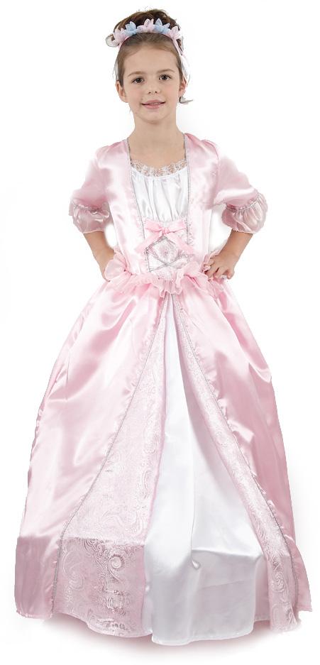 Photo du produit Déguisement princesse avec une couronne à fleurs fille