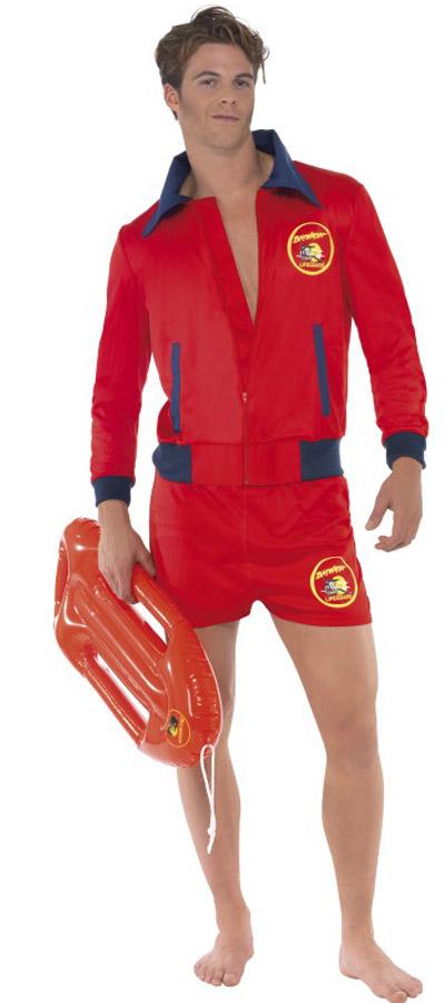 Photo du produit Déguisement rouge sauveteur Alerte à malibu adulte