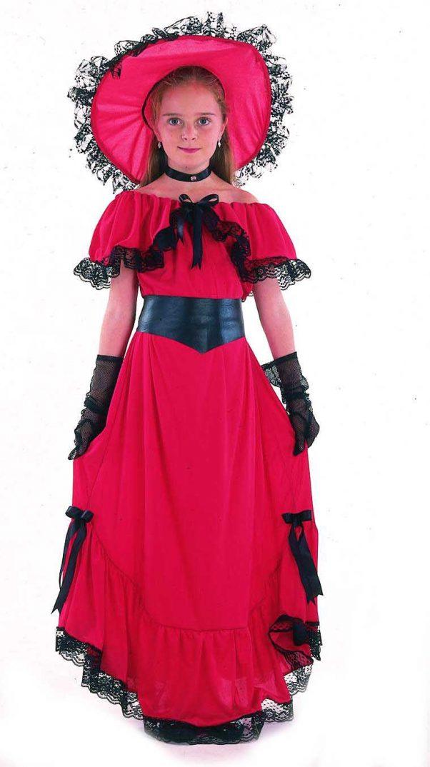 Photo du produit Déguisement Scarlett rouge fille