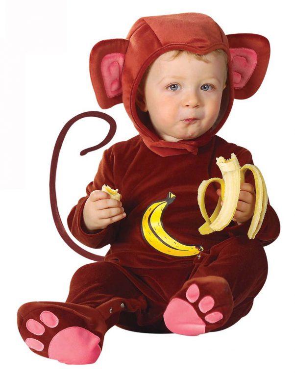 Photo du produit Déguisement singe effet velours bébé