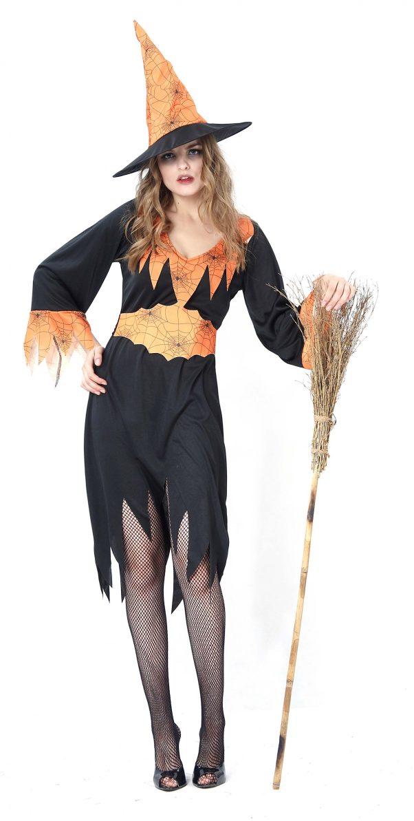 Photo du produit Déguisement sorcière araignée femme Halloween