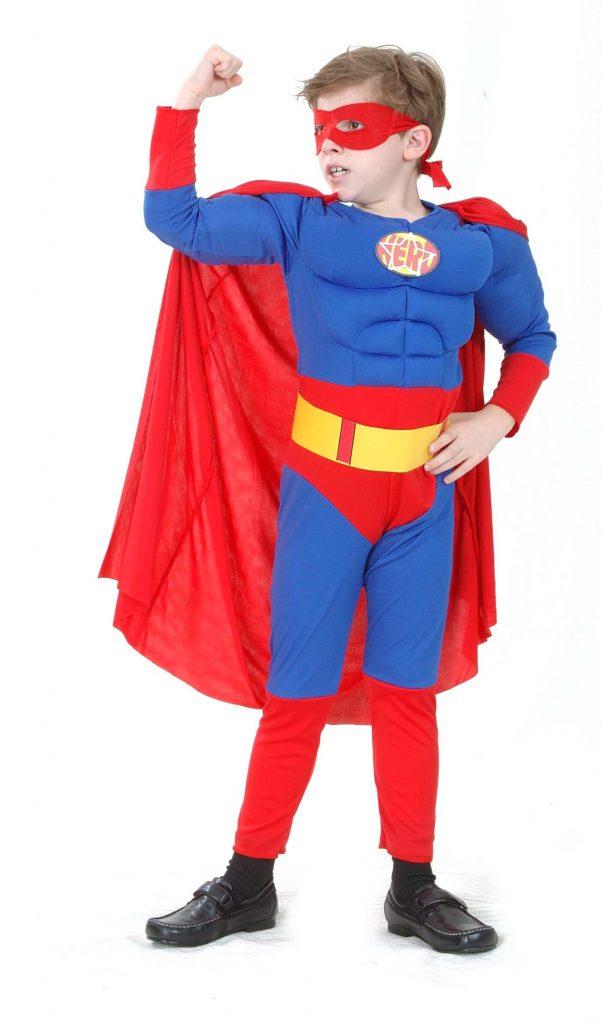 Photo du produit Déguisement matelassé super héros garçon
