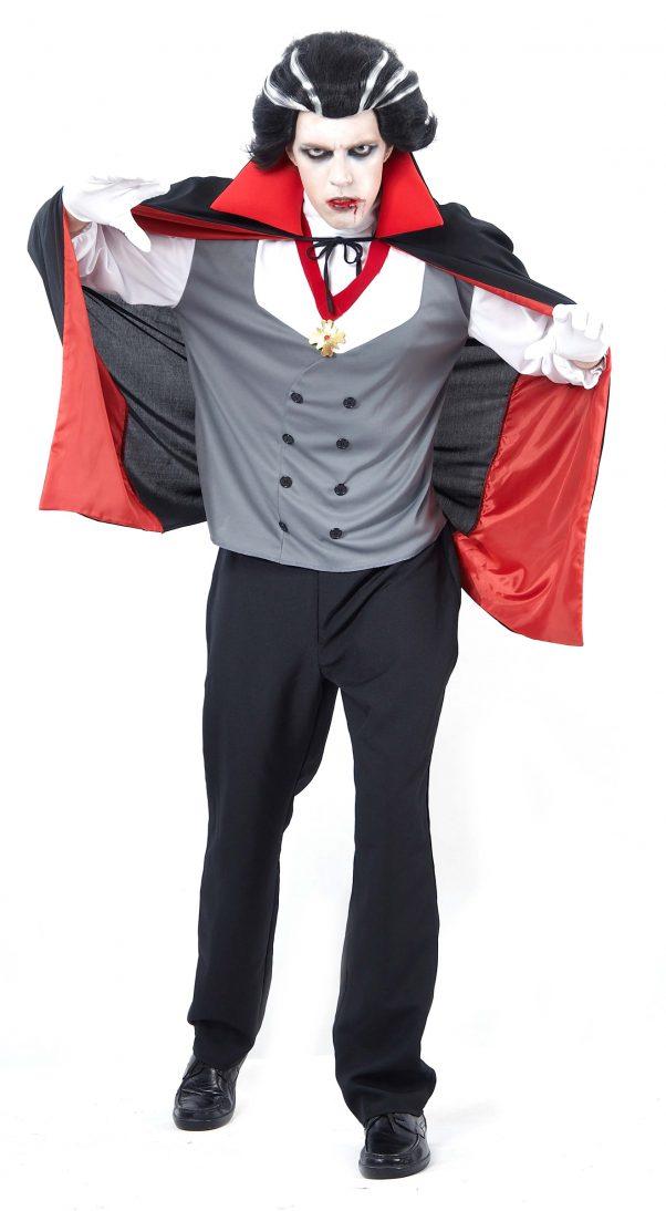 Photo du produit Déguisement vampire homme gris Halloween