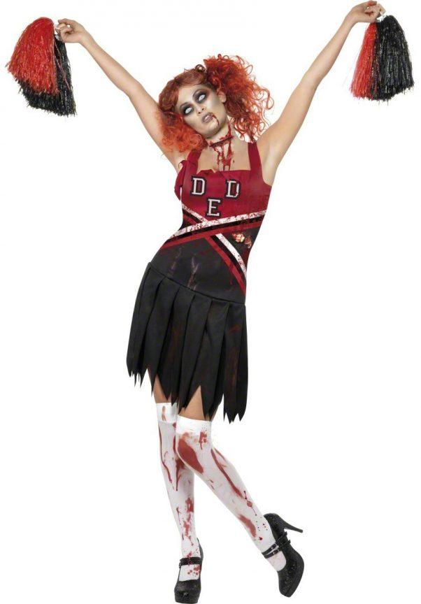 Photo du produit Déguisement zombie pompom girl femme Halloween