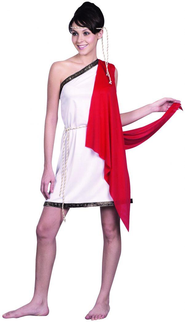 Photo du produit Déguisement déesse romaine courte femme