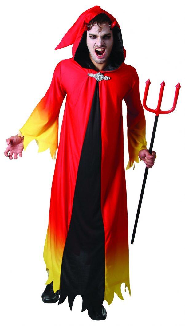 Photo du produit Déguisement diable flamboyant homme Halloween