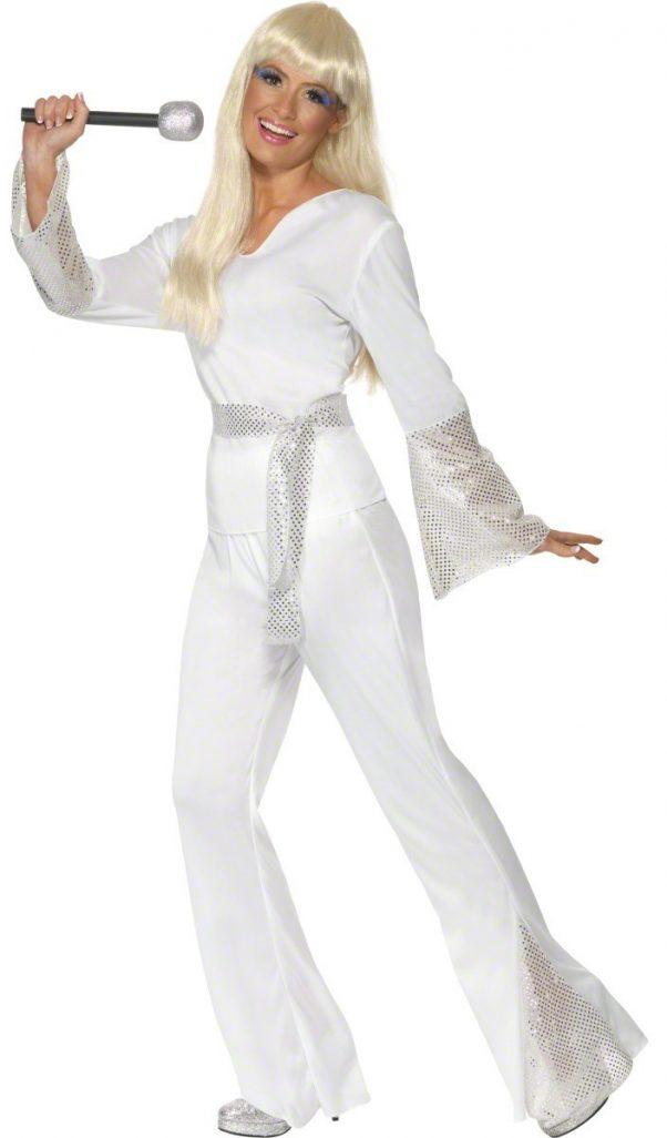 Photo du produit Déguisement disco blanc femme